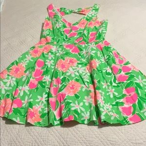 Lilly Pulitzer a-line dress.